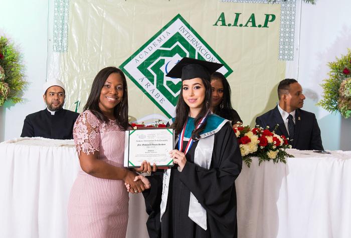 Graduación Academia Árabe de Colón,