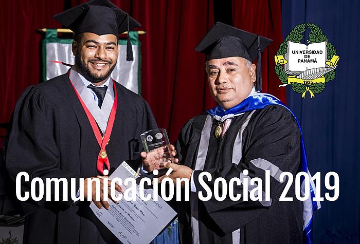 Cobertura: Graduación - Comunicación Social - Universidad de Panamá 2019,